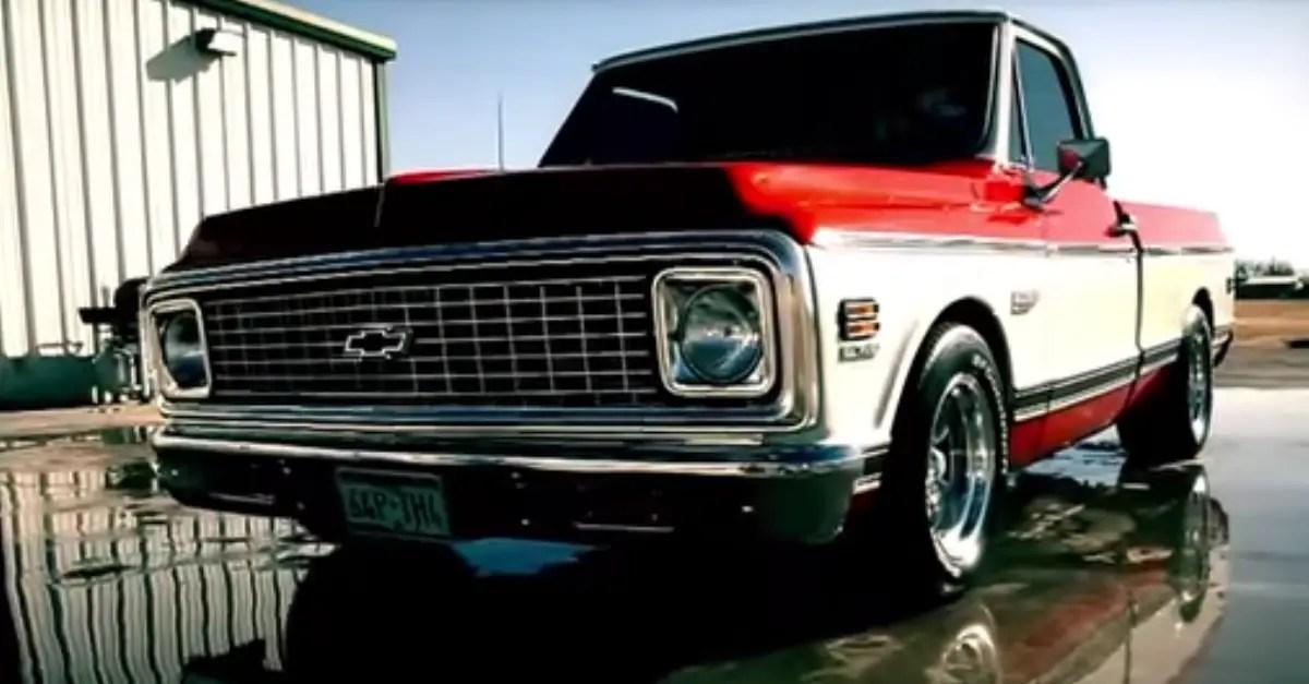 1972 Chevy Cheyenne American trucks