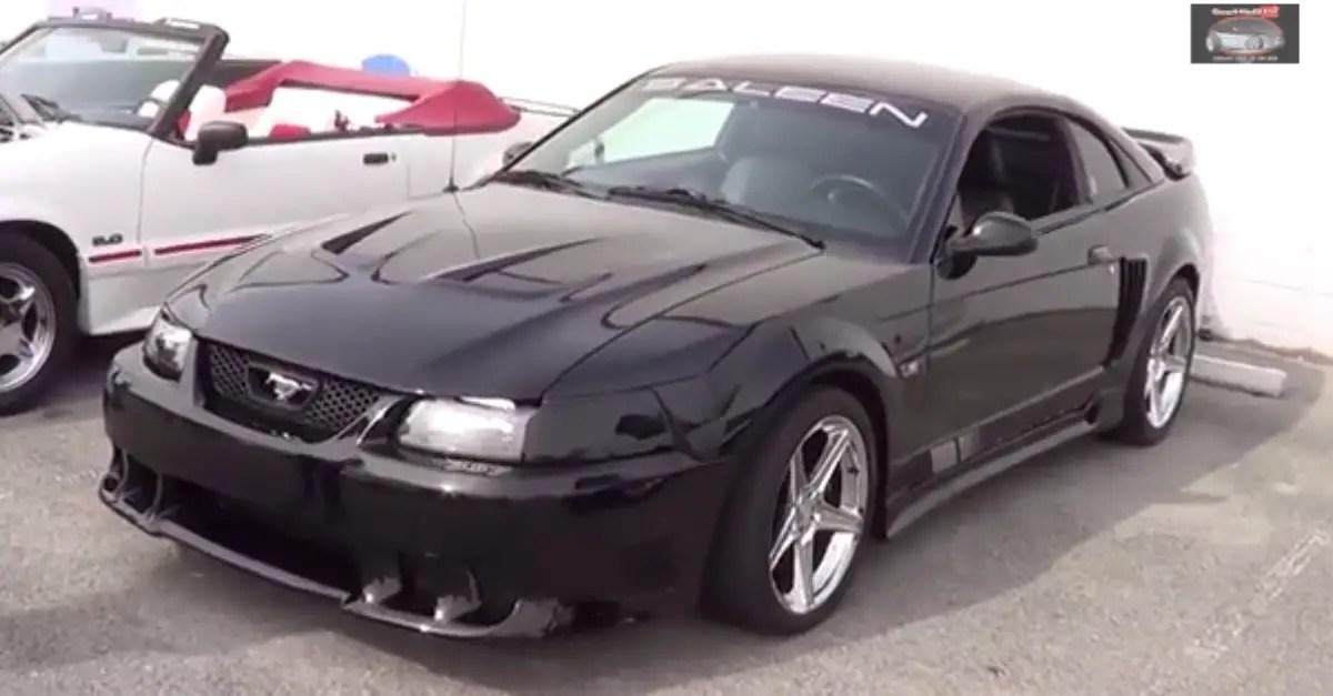 2004 Saleen Mustang 357 american muscle car