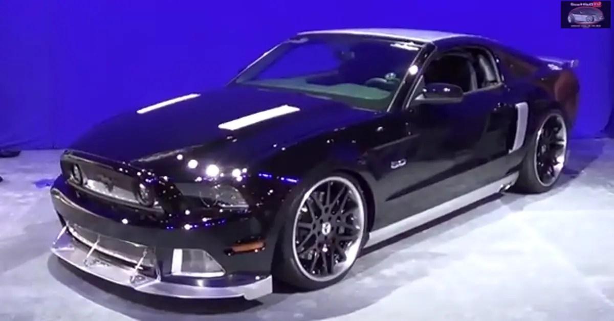 2014 Ford Mustang Custom american muscle car