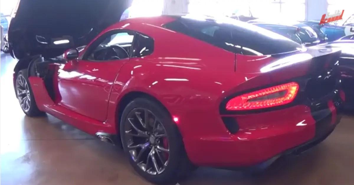 2014 SRT Viper GTS Coupe 640 HP V10 American sports car