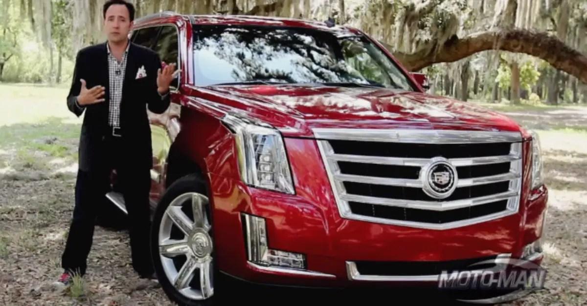 2015 Cadillac Escalade review american truck