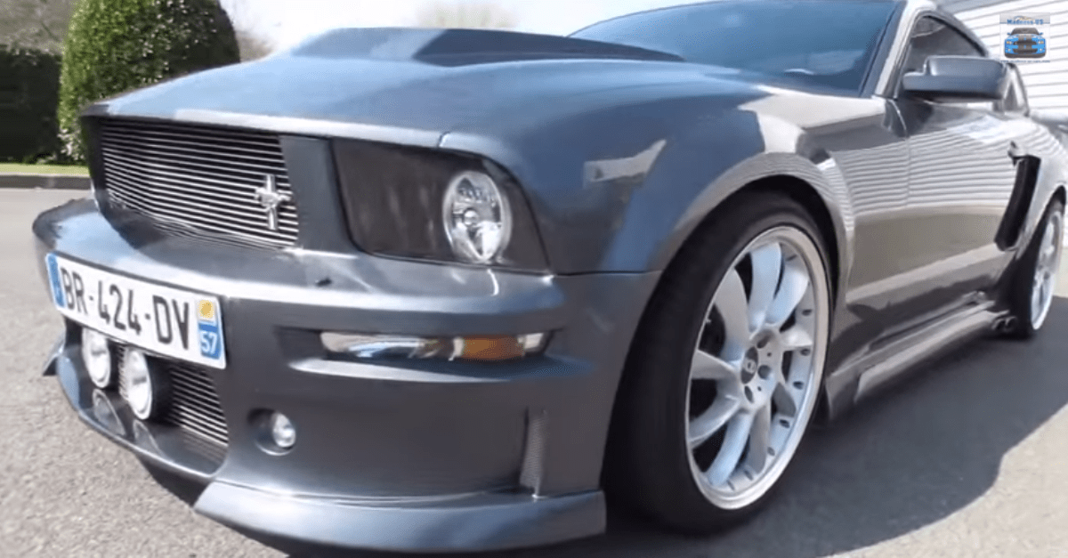 Ford Mustang GT Eleanor 2006 american muscle car