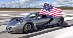 World s Fastest American sports car Hennessey Venom GT