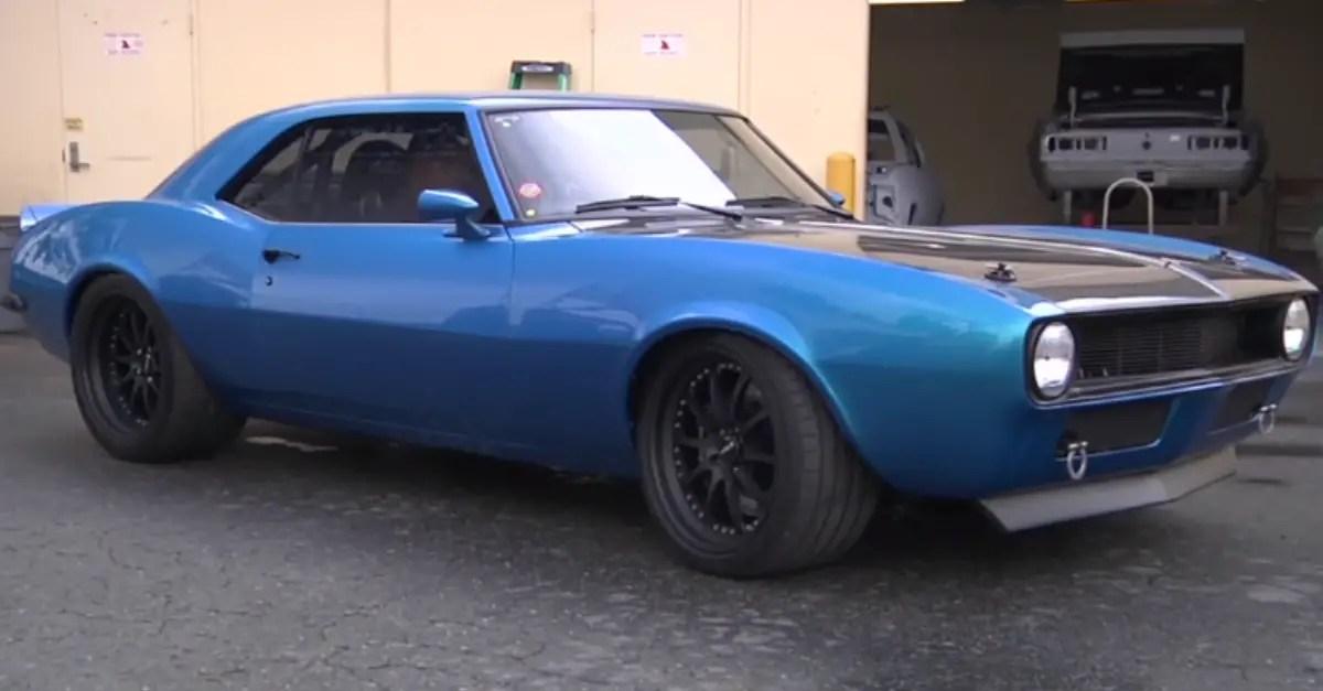 1968 Chevrolet Camaro JCG Restorations american muscle car