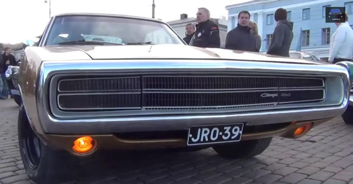 1970 Dodge Charger 500 V8 mopar muscle car