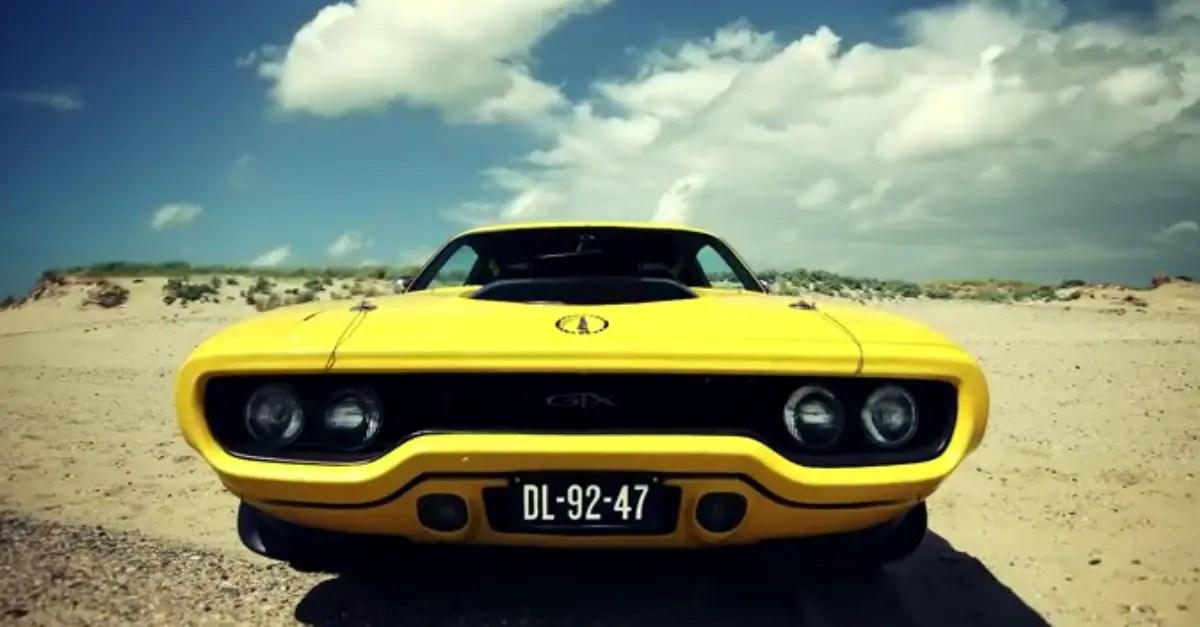 1971 plymouth gtx 440 mopar muscle car