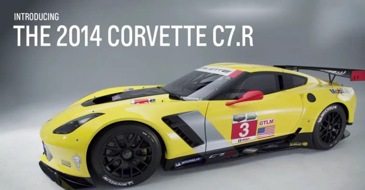 2014 chevrolet Corvette C7R Racecar american sports cars