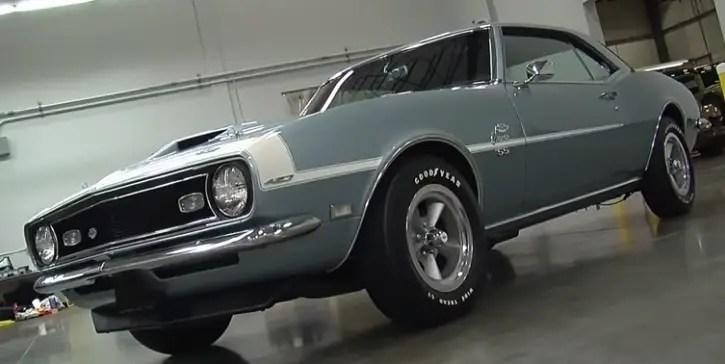 1968 chevy camaro ss yenko