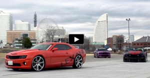 american muscle cars tokyo auto salo 2015 lexani meet