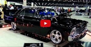 chevy nova custom muscle car