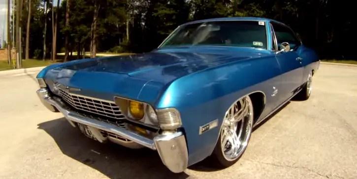 custom built 1968 chevrolet impala fastback