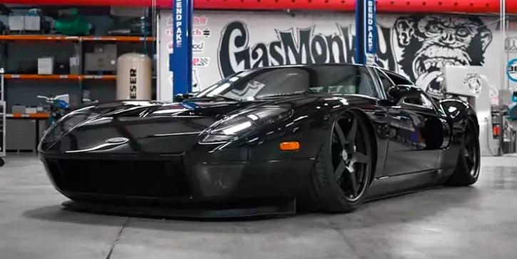 Striking Ford Gt Custom By Gas Monkey Garage Hot Cars