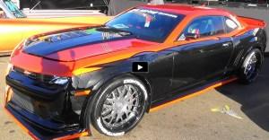 the custom shop 2015 chevy camaro z28