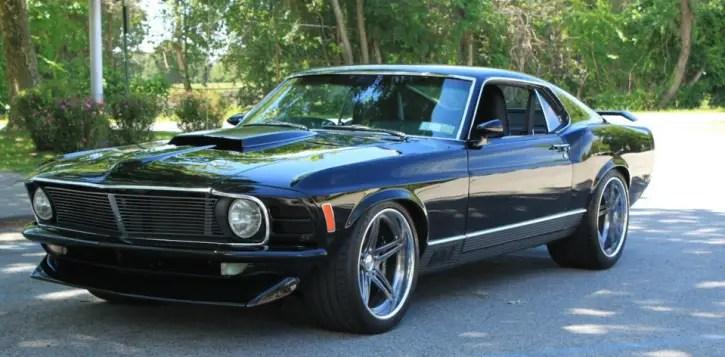 Mean Custom 1970 Ford Mustang Mach 1 Cobra Hot Cars