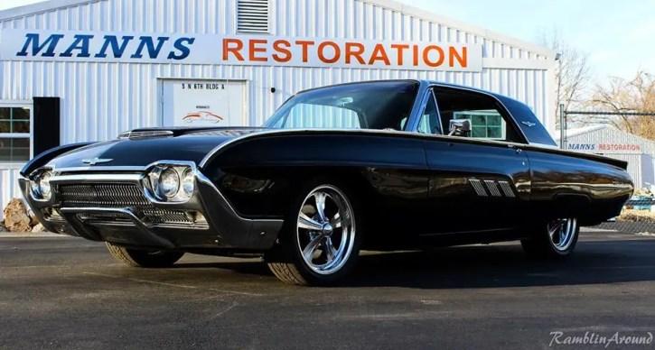 1963 ford thunderbird restomod manns restorations