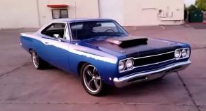 custom built 1968 plymouth road runner video