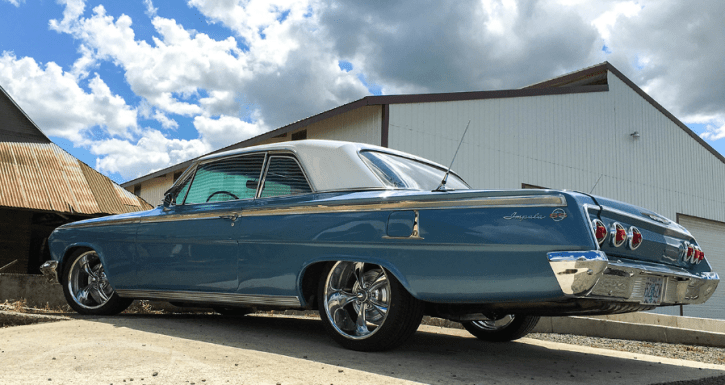 '62 chevy impala super sport video