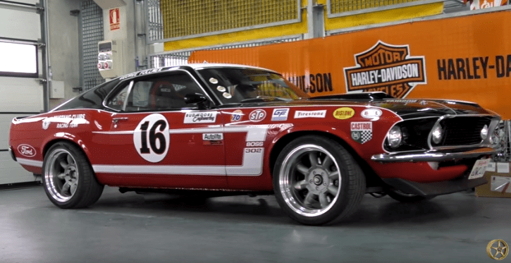 Ford Mustang Ta2 Trans Am Race Car For Sale: Well Built 1969 Mustang Boss 302 Trans Am Tribute