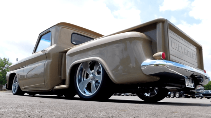 high end custom built 1965 chevrolet c10 truck