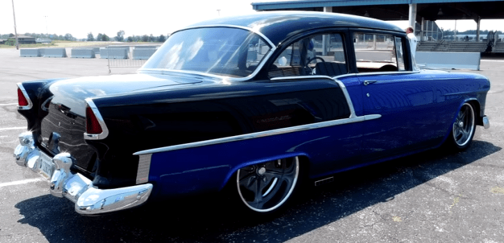 customized 1955 chevrolet 2016 kavalcade of cool