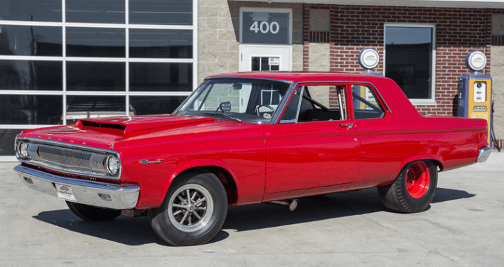 red 1965 dodge coronet a990 tribute