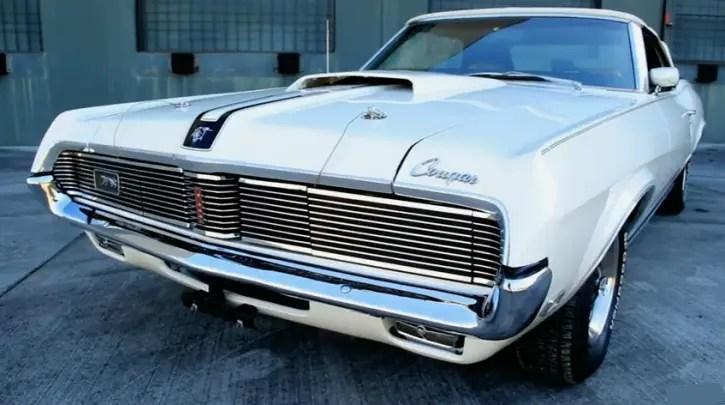 white 1969 mercury cougar xr7 convertible collector car