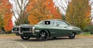 1968 pontiac bonneville v8 custom