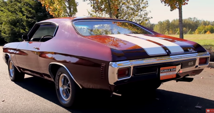 1970 chevrolet chevelle ls6 collector car