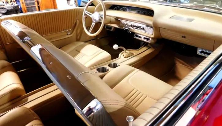 original 1963 chevrolet impala 350 crate motor 4-speed