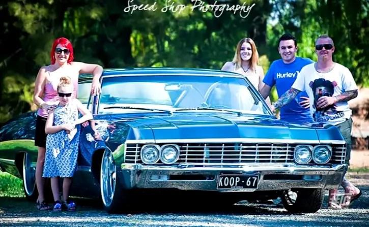 1967 chevy impala hot rod