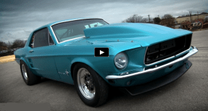 f1x procharged 1967 ford mustang grudge racer