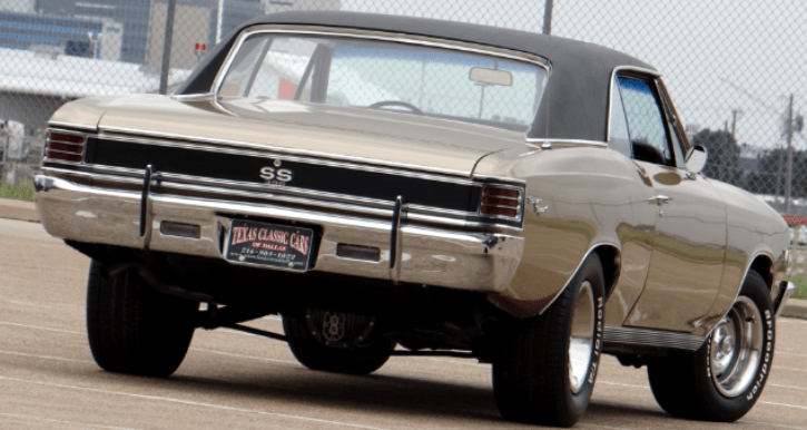 1967 chevy chevelle restored to original