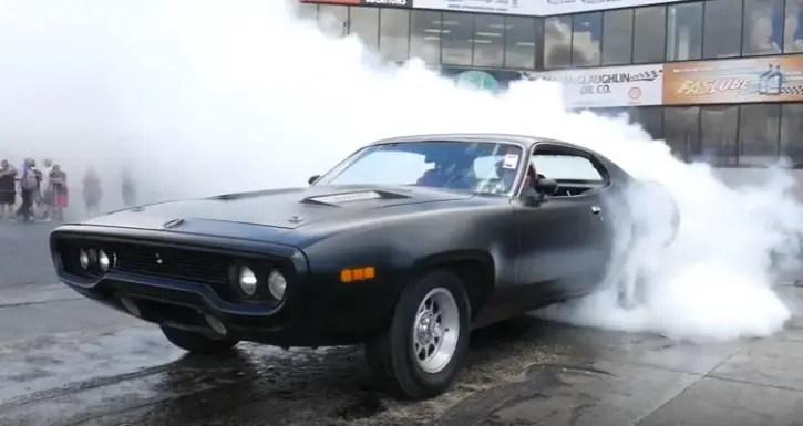 2016 mopar nationals burnout contest