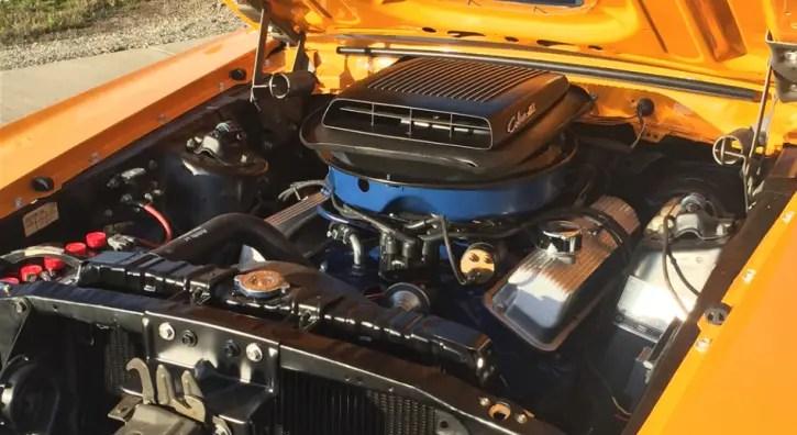 grabber orange 1970 mustang mach 1 cobra jet marti report