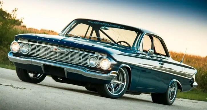 pro touring 1961 chevrolet impala