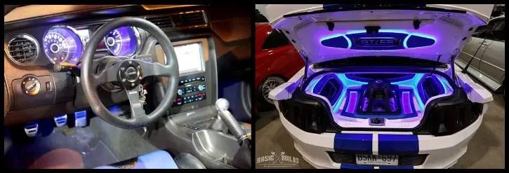 2014 mustang california special show car