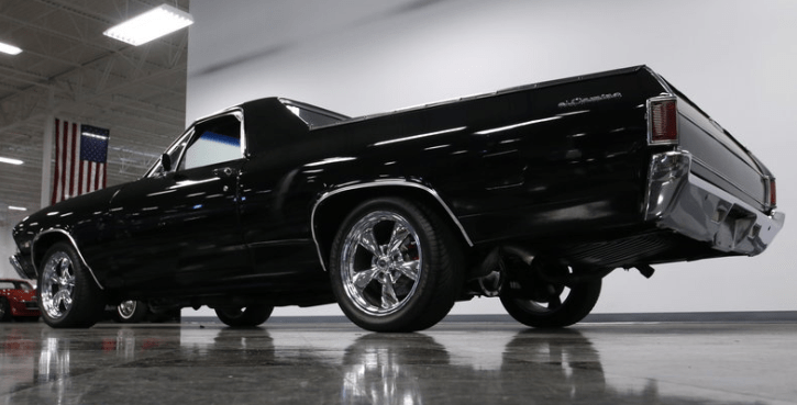 custom built 1968 chevy el camino truck