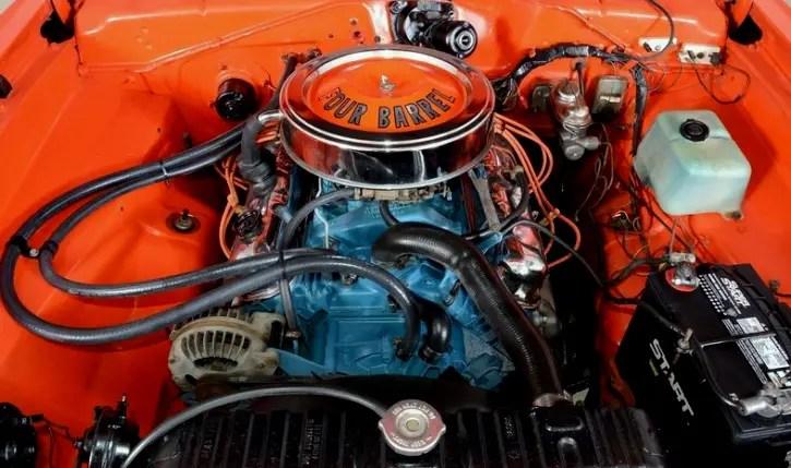 original 1972 plymouth duster 340 wedge in hemi orange