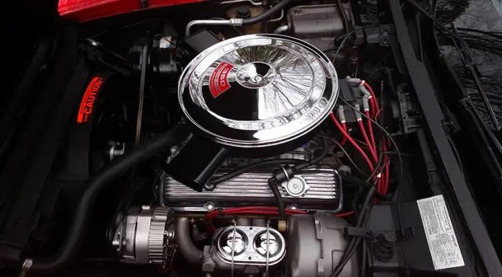 custom built 1979 chevrolet corvette in torch red