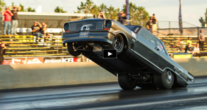 street outlaws chevy goliath wheelstand