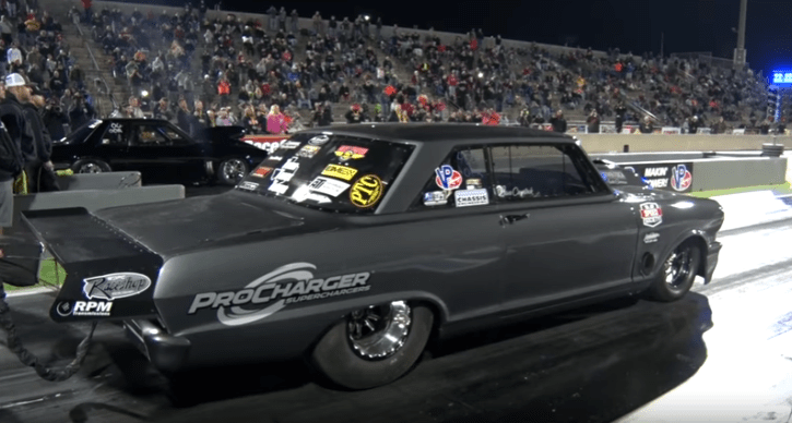 new street outlaws chevy goliath drag racing