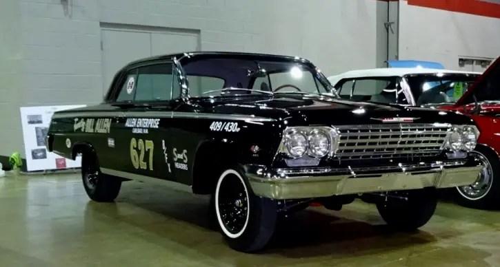 1962 chevrolet impala z11 factory built race car