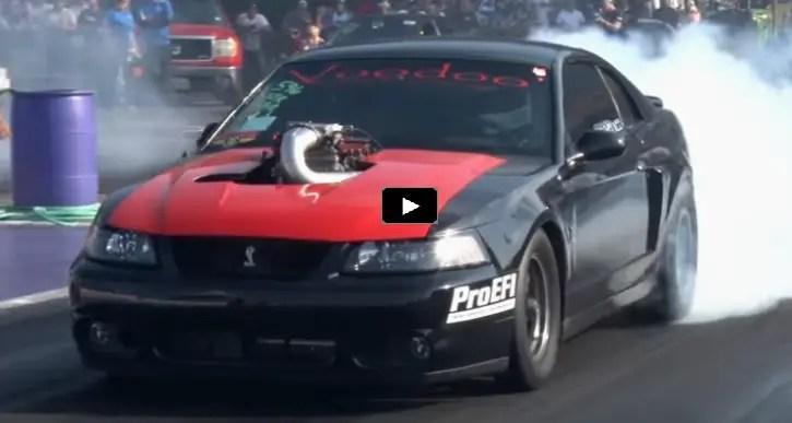 voodoo racing turbo mustang cobra drag racing