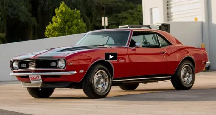1968 chevy camaro 350 cmall block 4 speed