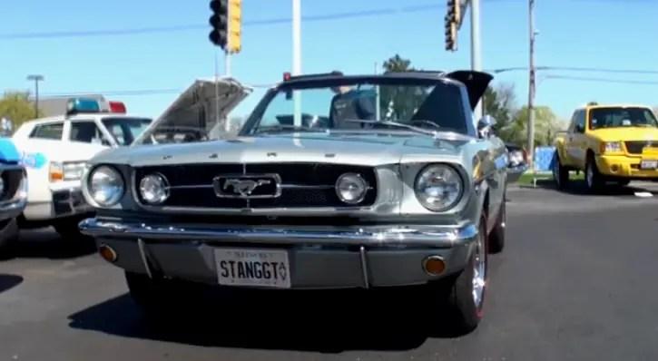 original 1965 mustang gt convertible