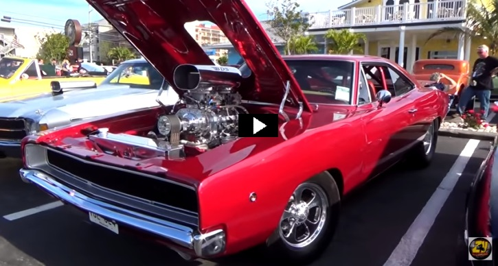 One Hell Of A Pro Street 1968 Dodge Hemi Charger Hot Cars
