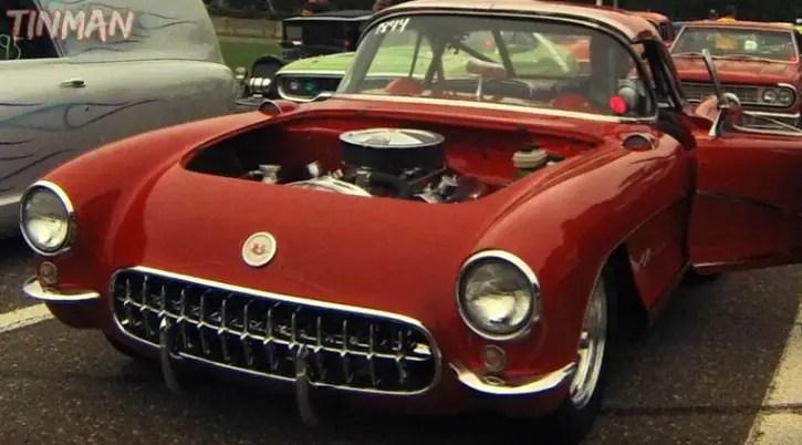 pro street 1957 chevrolet corvette