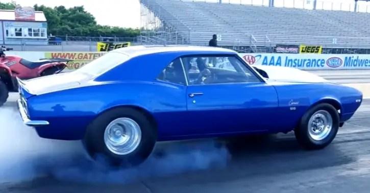 8-second 1968 chevrolet camaro 572 big block v8