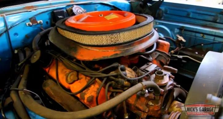 440 v8 motor rebuilt to stock specs