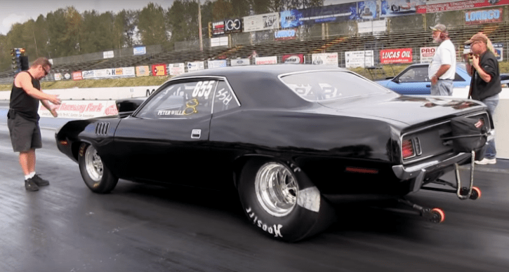8 second plymouth cuda 540 stick shift